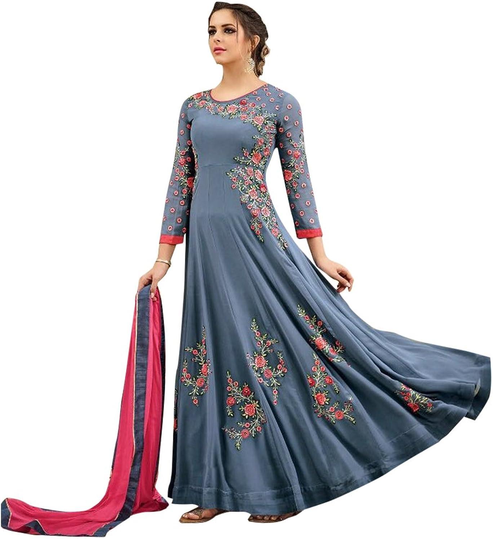 Bollywood Collection Pakistani Anarkali Salwar Suit Bridal Wedding Ceremony Punjabi Muslin Eid 825 2