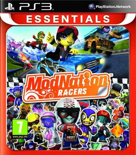 Modnation Racers PS-3 ESSENTIALS PEGI