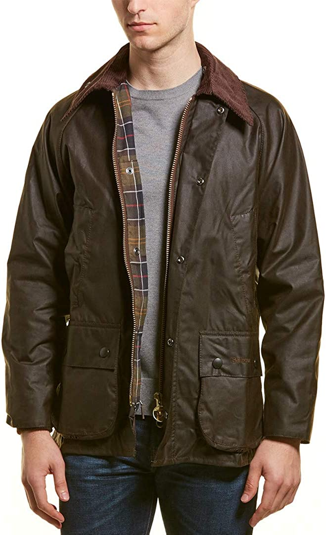 Award Barbour Men's Industry No. 1 Classic Bedale Jacket Cotton Wax