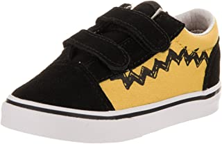 Vans Toddlers Old Skool V (Peanuts) Skate Shoe