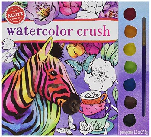 Klutz Book: Watercolor Crush