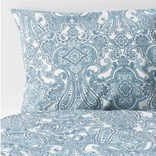 JÄTTEVALLMO IKEA Bettwäscheset in blau; 100% Baumwolle; 2-teilig; (140x200/80x80cm)