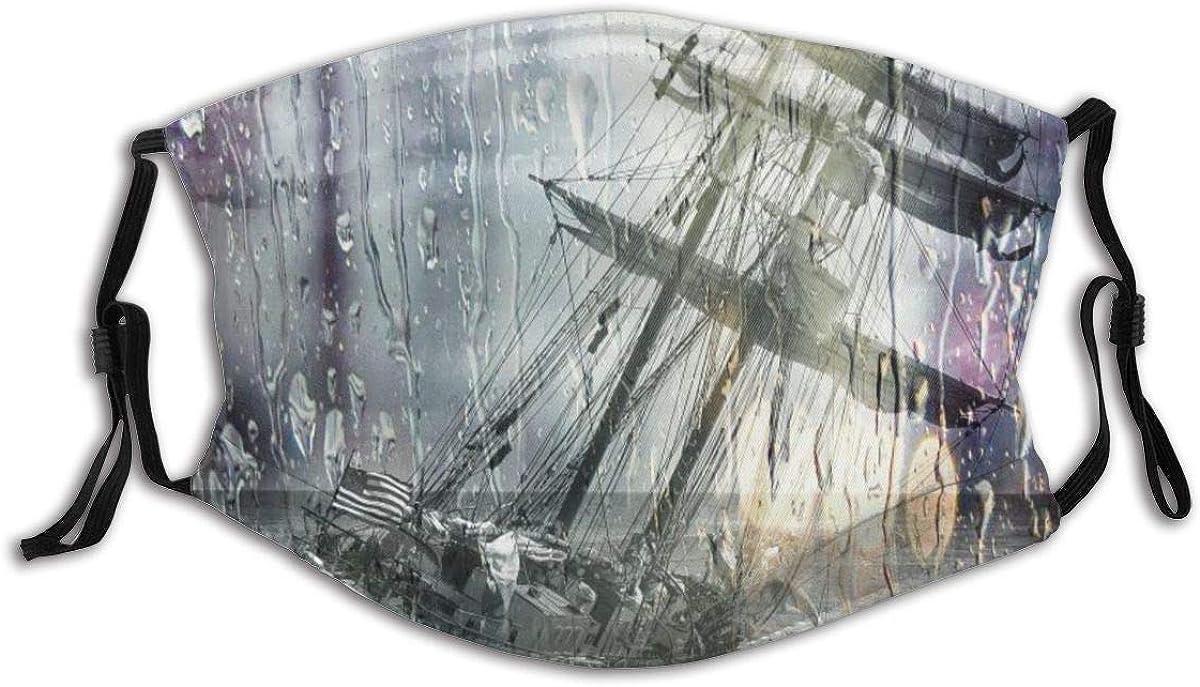 yanfind Sailing Ship Stuck Wrack Stranded Wet Lens rain Water Dramatic capsizing Ocean Sailing Storm Digital Manipulation Photo Art Gray Water Gray Rain Gray Sea Gray Art Gray Ocean
