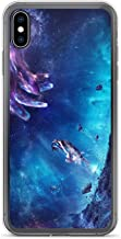 iPhone XR Case Anti-Scratch Motion Picture Transparent Cases Cover A Star Showing A Sudden Large Increase in Brightness an Movies Video Film Crystal Clear