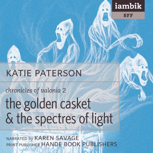 The Golden Casket and The Spectres of Light audiobook cover art