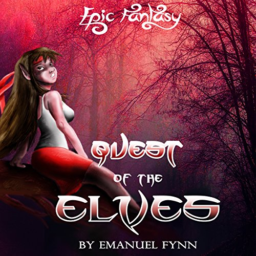 Quest of the Elves audiobook cover art