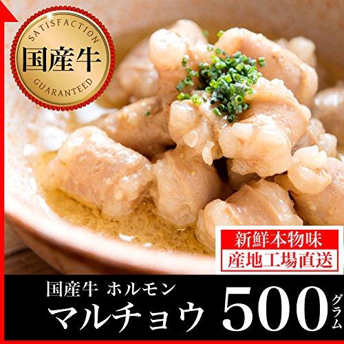 国産牛 丸腸 焼肉用 (500g)