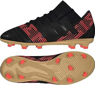 Nemeziz 17.3 Firm Ground Junior Football Boots - Black-5