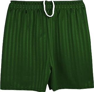 ND Sports School Shadow Stripe PE Shorts for Adult, Medium UK, Bottle Green