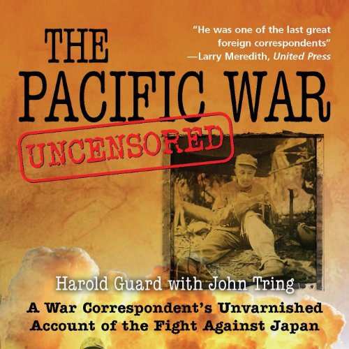 Pacific War Uncensored audiobook cover art