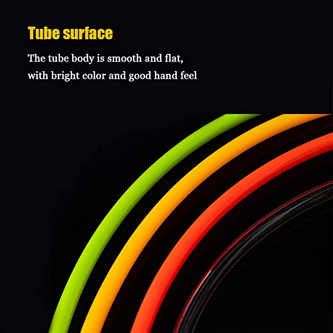 Tubo Flessibile dellunit/à di Elaborazione del Compressore daria Tubo Flessibile dellunit/à di Elaborazione con Connettore Maschio//Femmina 1//4 in Tubo Flessibile del Tubo 8 * 5mm*6m