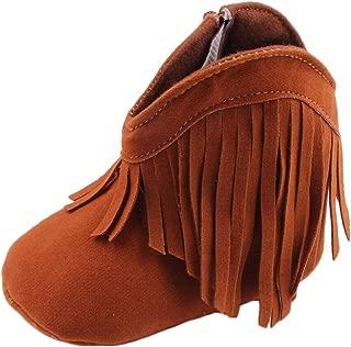 Baby Girls' Cowboy Tassel Boots