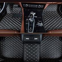 muchkey Leather Carpet Floor Mats Car Mats Black Beige Car Floor Mats Fit For BMW X5 F15..