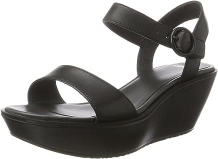 Amazon ae: camper-damas-21923-wedge-sandals-for-women-black