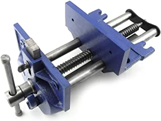 7-Inch Quick Release Vise Under Bench Woodworking Open 8-1/4
