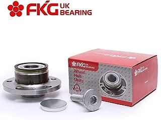 FKG 512319 Rear Wheel Bearing Hub Assembly fit for VW Beetle CC Eos Golf Jetta Passat (CC) Tiguan, 09-09 Audi TT