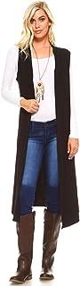 Women's Sleeveless Lightweight Duster Vest