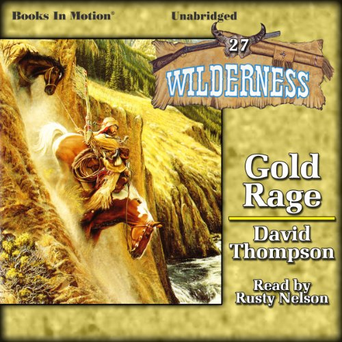 Gold Rage audiobook cover art