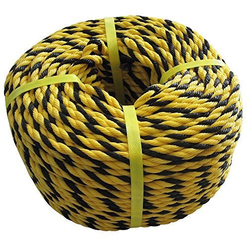糸代製鋼 ITD 標識(トラ)ロープ #9(約7mm)x約100M