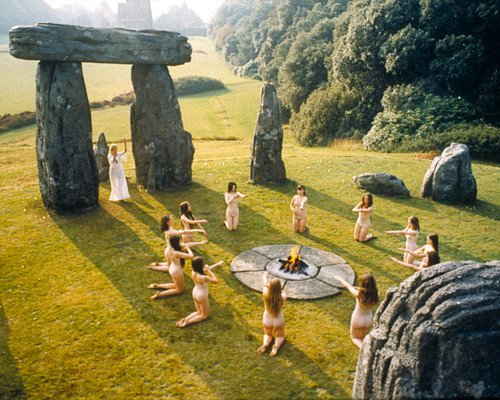 The Wicker Man Ingrid Pitt Naked Pagan Ritual By Stones 1973 24x30 Poster