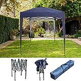 BIRCHTREE Gazebo Pop Up No Sidewalls Waterproof Marquee Canopy Outdoor Garden Wedding Party