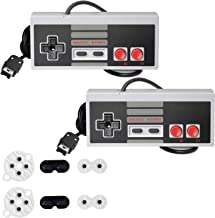 NES Classic Controller with 12FT Cable [2-Pack] for Nintendo Classic Mini Edition,SNES Classic 2017,2 Pack Classic Mini Co...