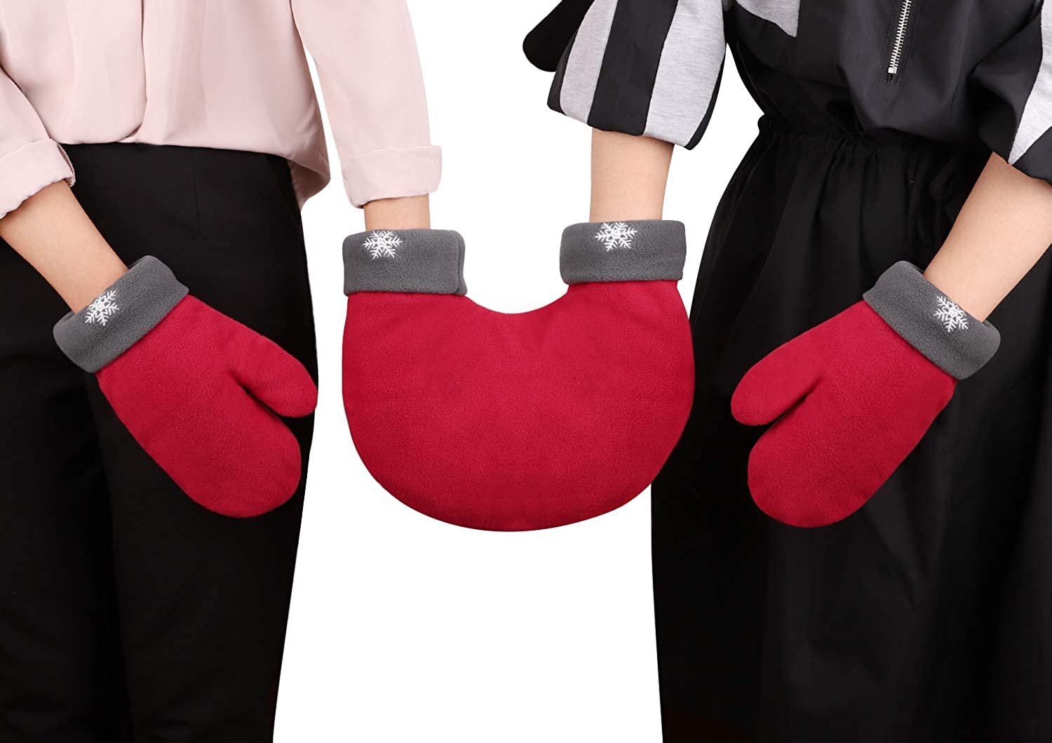 Hand in Max 63% OFF Mitten Couples Lovers Holida Save money Christmas Parent Child