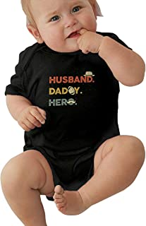 LAURDE Baby Boy Girl O-Neck Short Sleeve Climbing Clothes Spirited Away Funny Jumpsuit Black