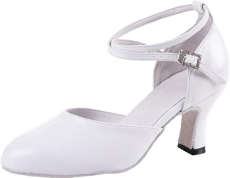 C & C Women's Noble Leather Dance shoes