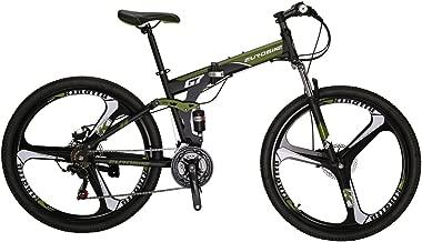 "S7 27.5/"" Full Suspension Mountain Bike Shimano 21 Speed Disc Brakes Mens Bicycle"