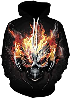 Racker-n-Roll Rock Star Silver Dummy Pirate Zipped Hoodie Black
