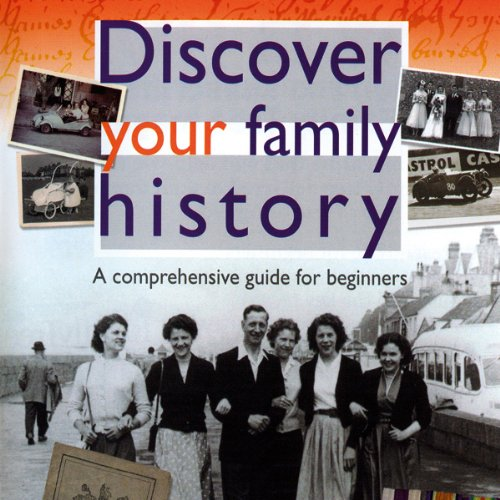 Discover Your Family History audiobook cover art