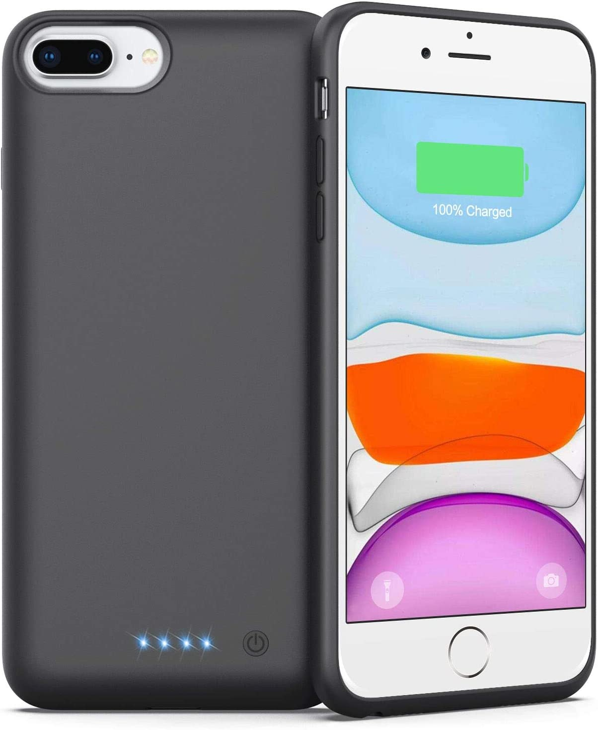 Battery Case for Popular standard iPhone 6 8 Newest 8500mAh 7 Plus Chicago Mall