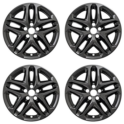 New Wheel Skins Covers Fits 2013-2016 Ford Fusion, 17 Inch; 5 Double Spoke;...