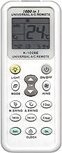 各社共通1000種対応 エアコン用ユニバーサルマルチリモコン 自動検索機能も搭載!!-520012 K-1028E