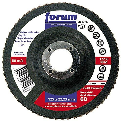 Forum 4317784922166 Disque à lamelles Grain céramique 60 125 mm
