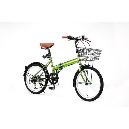 Raychell(レイチェル) 20インチ 折りたたみ 自転車 FB-206R シマノ6段変速 フロントLEDライト付 [メーカー保証1年]