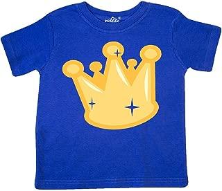 inktastic Gold Crown Toddler T-Shirt