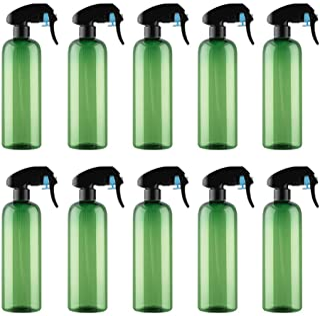 10 botellas de spray de 500 ml para regar botellas de agua