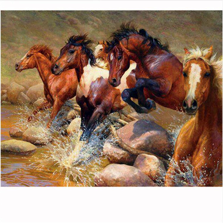 Diy Malen Malen Malen Nach Zahlen Pferd Laumluft Ins Wasser