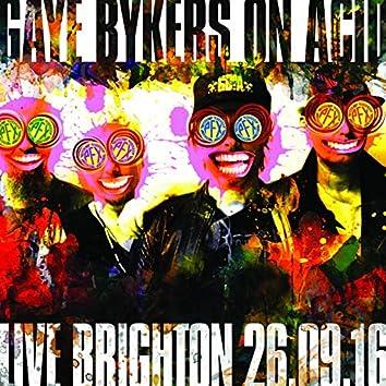 Live Brighton 26.09.16