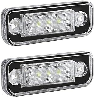 Ricoy Canbus LED numero targa luce per W204/ W221/W212/C216/C207/C e classe S cl bianco 5D confezione da 2