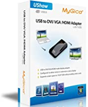 MyGica UShow US165 USB to DVI/VGA/HDMI Multi Display Adapter up to 1920×1080 Resolution