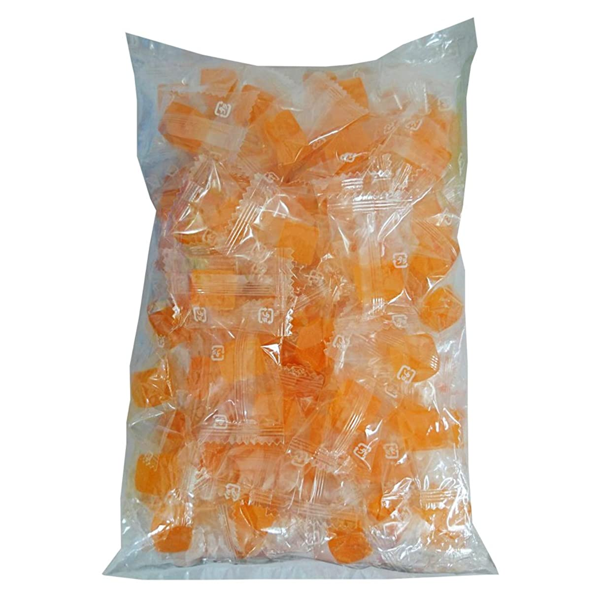 夕食を食べるばか解決みかんキシリトールグミ大袋100粒入