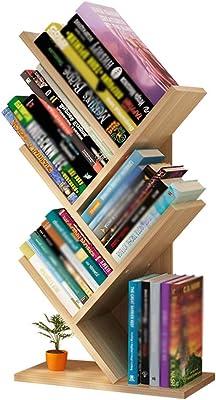 XJJUN Desktop Bookshelves, Tree-Shaped Bookshelves, Multi-Layer Student Desks, Children's Desk Storage, Office Shelves (Color : A, Size : 31X17X49CM)