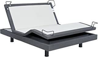 Reverie REV-7S-QN 7S Adjustable Bed Base Wireless, Wall Hugger, Massage, Bluetooth, Zero-Gravity, Queen