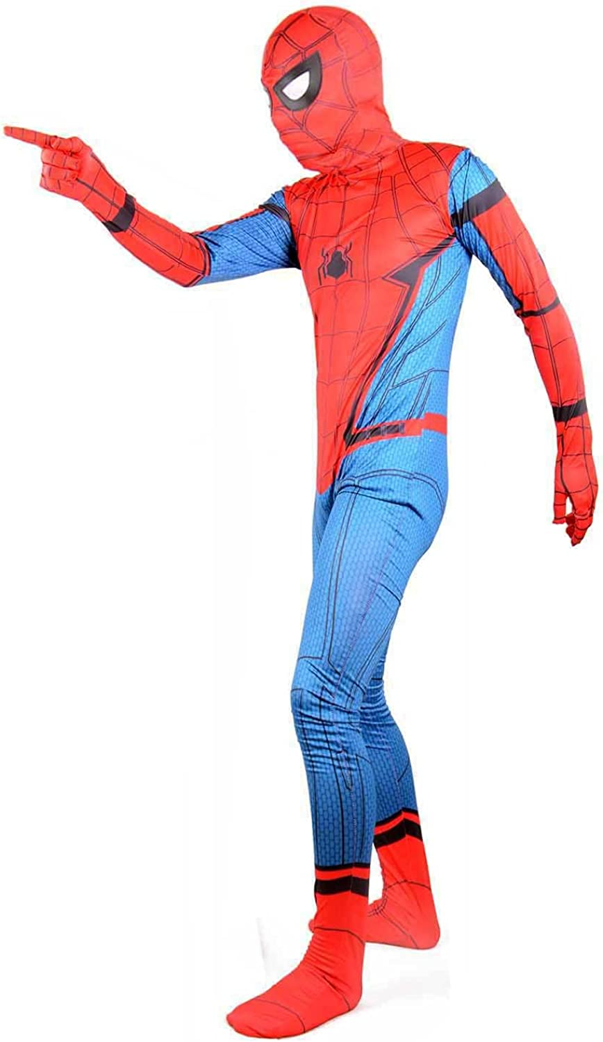Wraith of East Red Superhero Suit Party Cosplay Halloween Costume Kids