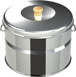 ホンマ製作所 (サンフィールド/SunField) キッチン スモークキュート (燻製レシピ/スモークチップ付き) ステンレス IH-240P