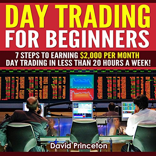 Day Trading for Beginners audiobook cover art
