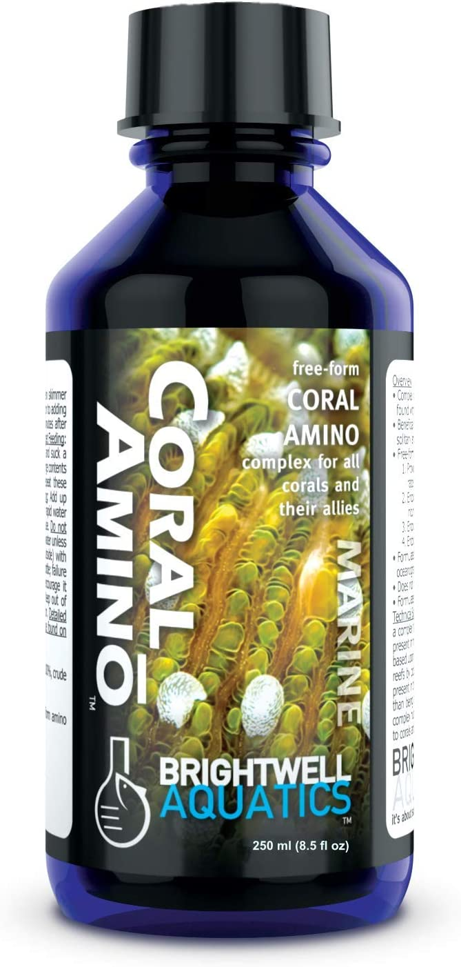 Brightwell Aquatics CoralAmino Rare - Amino Complex Max 42% OFF Acid Coral for Co